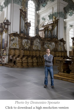 In the Choir of the Church of St. Gall